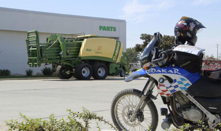 Alexander Conrad bike the ag-world California